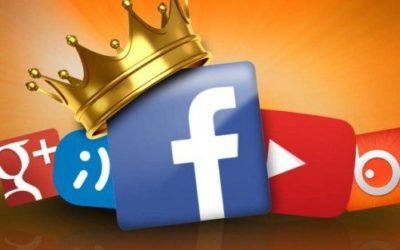 Facebook continúa liderando las redes sociales